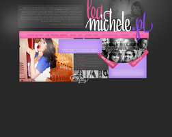Lea Michele BPR GQ Layout by Imfearless