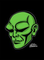 The Martian Manhunter from DC Comics! by CreedStonegate