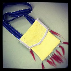 Fashion - 1760's Iroquois Bag by MauserGirl