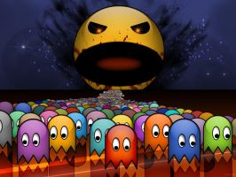 Pacman gone bad by killingspr