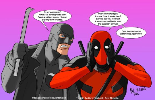 TLIID 383. Deadpool and Midnighter by AxelMedellin