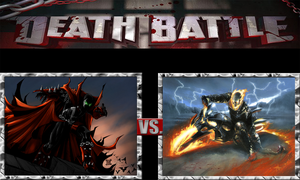 Spawn vs. Ghost Rider by ScarecrowsMainFan