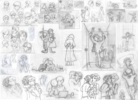 doodles by br0-Harry