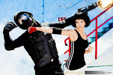 Mirror's Edge Cosplay 06 by Benny-Lee