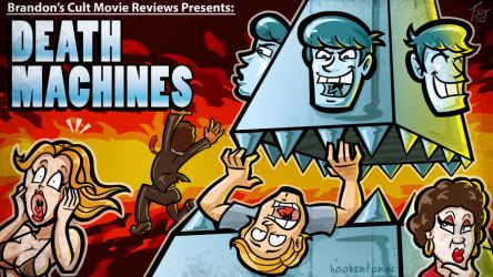 Title Card: Death Machines by hooksnfangs