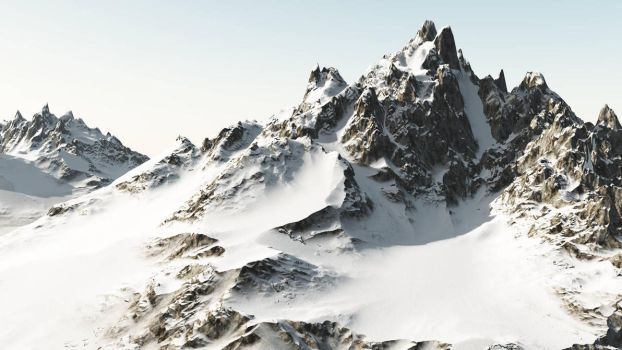 Sunny moutains by eVenement