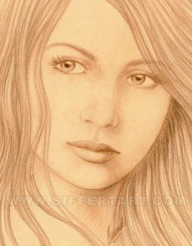 Sepia Woman II by siffert