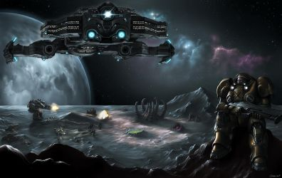 Starcraft 2: Conquest by OuterKast