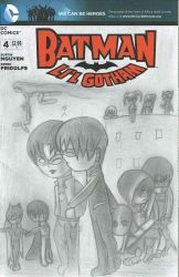 Little Redwing Sketch Cover Front by dickiejaybird