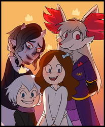 The 100 Club (Artfight) by Shake666Productions
