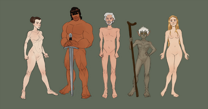 Figures by MultiverseCafe