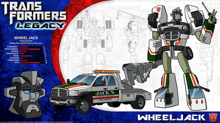 Transformers Legacy: Wheeljack by CyRaptor