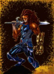 Lion-O - Colors by RodWolf by RodWolf
