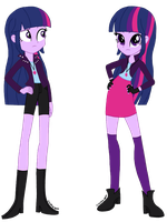 Twilight Sparkle AU by psshdjndofnsjdkan