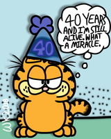 Garfield Turns 40 by Waltman13