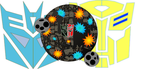 Shattered Glass War Of Cybertron by JMK-Prime