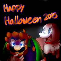 Halloween 2015 by BaconBloodFire