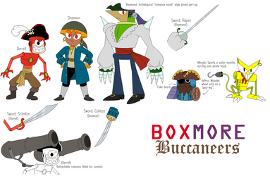 Boxmore Buccaneers by BlackRobtheRuthless