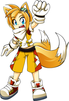 Commission: Tails Gijinka by R-Legend
