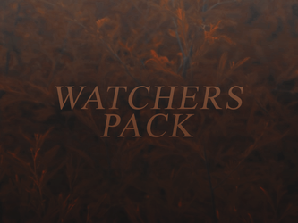 150 Watchers Pack by SugarRush19
