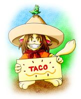 The Grinning Fool - Taco by MelonFoxJozei