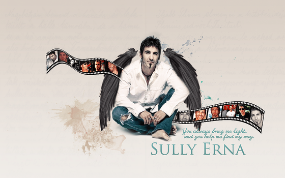 My light Sully Erna Wallpaper by Fustro