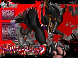 OFFICIAL HEINOUSHOUND MAGZ AD. by Spyroflamesredsbum