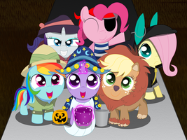 Trick or Treat by SpellboundCanvas