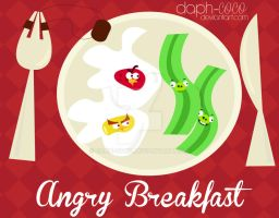 Angry breakfast by daph-coco