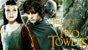 The Lion and the Two Towers - Lucy and Frodo by Lily-so-sweet