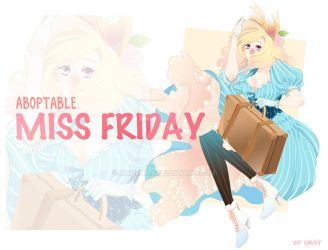 [Open] Adoptable : Miss Friday by Alizena