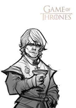Game of Thrones: Tyrion Lannister (sketch) by Bing-Ratnapala
