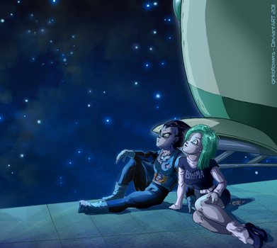 Stargazing by ginkoflowers