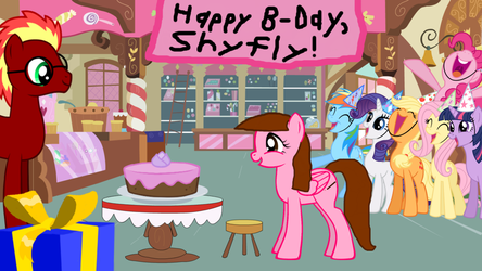 Shyfly's Birthday by USA92