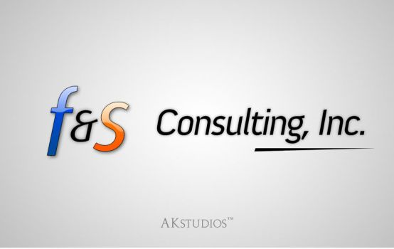 F and S Consulting, Inc. logo by AK-studios