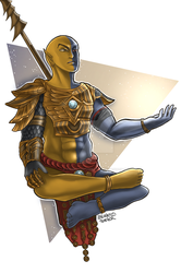 vivec by TheEnchantedFeather