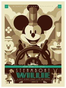 mondo: steamboat willie var by strongstuff
