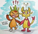 Whisker Buddies by owlburrow