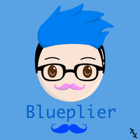 Kawaii Blueplier! by TiNiLu