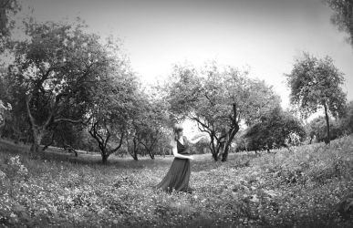 Dancing with the trees 1 by BLACKBLACKSQUARE
