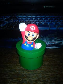 Mario Happy Meal Toy by mikadoboy82