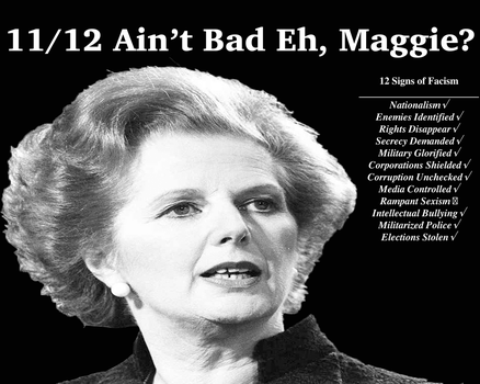 11/12 Ain't Bad Eh Maggie? by pollitkalyMarx5