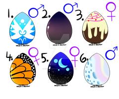 (MLP) Mystery Egg Adopts! (Closed) by Changeling-Neon