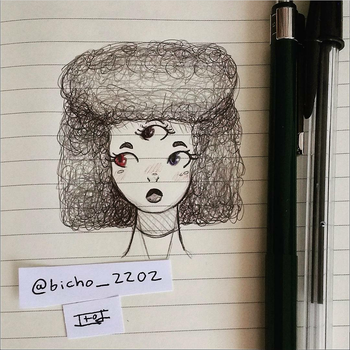 Garnet quick drawing by ITODrawings