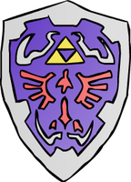 Hylian  Shield by WolfTron