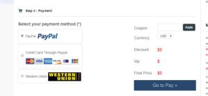Step3 choose payment way by ms2store