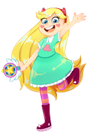 Star Butterfly by Gilzean