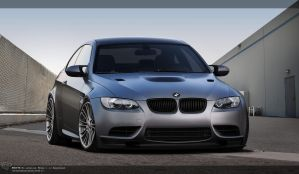 BMW M3 Frozen by Cop-creations