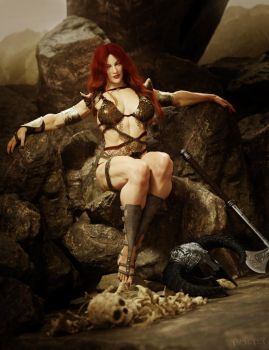 Red Sonja by RawArt3d