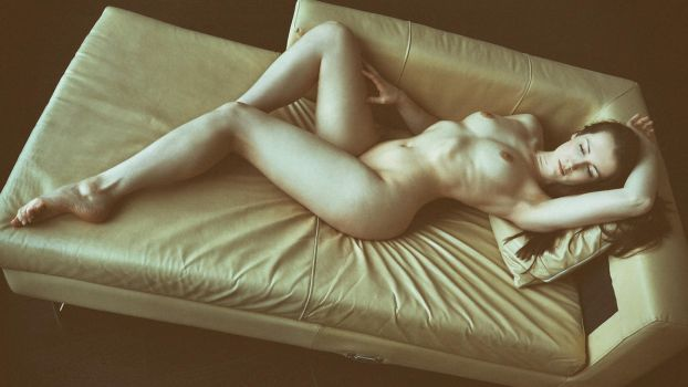 Cassie Jade: Lounging (colour) by JeremyHowitt